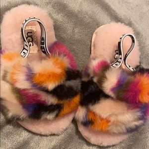 Baby Ugg Faux Fur wool Slippers